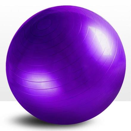 Pilatesball 3 størrelser - Lilla 65cm