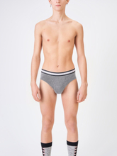 RBN COTTON BRIEFS Bright Grey Melange, XS