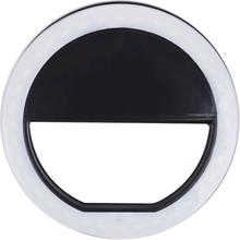 Universell Selfie Lampa / Ring med olika ljuslägen - Svart