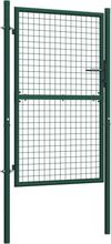 Port stål 100x150 cm grønn