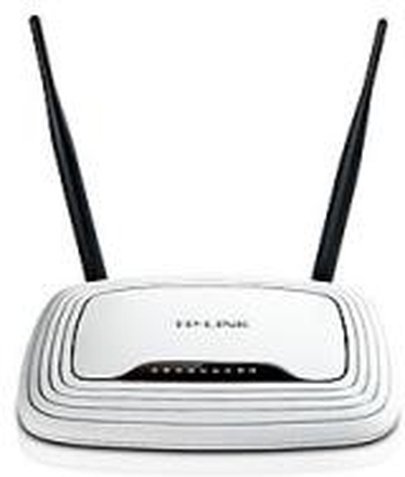 TP-Link 300Mbit-WLAN-N-Router with 4-Port-Switch (10/100)