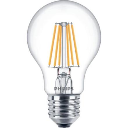 Philips Filament Dimtone Standard LED 5,5W/822-827 (40W) E27 dimbar - Klar