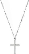 Spirit Cross Necklace Steel