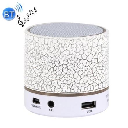 Mini høytaler bærbar bluetooth - Hvit
