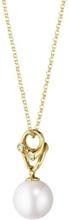 Magic Halsband Guld med Pärla och Diamanter