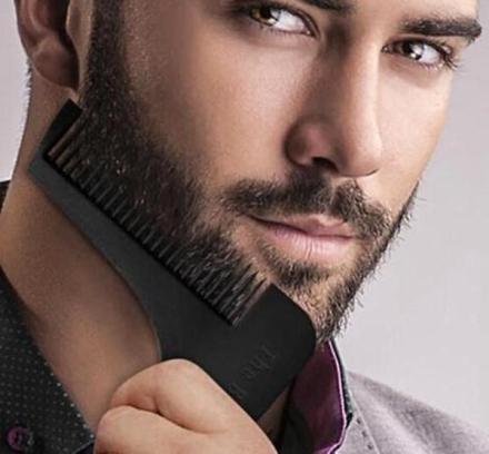 Beard Shaper skjegg kam