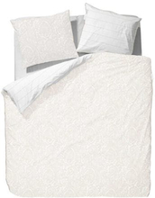 Essenza Sengesæt - 140x200 cm - Essenza Filan white sengetøj