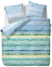 Essenza Dobbelt sengesæt - 200x200 cm - Essenza Daya blue sengetøj