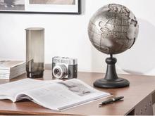 Beliani Dekoration glob silver EARTH
