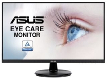 "ASUS VA24DQ - LED-skärm - 23.8"" - 1920 x 1080 Full HD (1080p) - IPS - 250 cd/m² - 1000:1 - HDMI, VGA, DisplayPort - högtalare - svart"