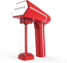 SteamOne håndholdt stofdamper - S-Nomad - Rød