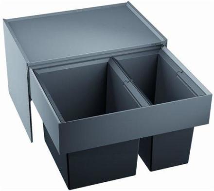 Blanco Select 60/2 Avfallssystem, 2 bøtter, Monteres i skap med uttrekk