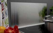 Millarco Veggplate Firkantet 800x400mm. Børstet rustfritt stål