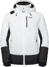 Jack Wolfskin Women's Big White Jacket Dame skijakker fôrede Hvit S