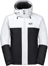 Jack Wolfskin Men's Powder Mountain Jacket Herre skijakker fôrede Sort XXL