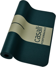 Casall PRF Yoga & Exercise Mat 4 mm träningsredskap Grön OneSize
