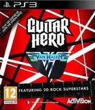 Guitar Hero Van Halen (Solus) (PS3)
