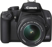 Eos 1000D 10.1MP 1x Sort