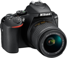 ikon D5600 24,2MP Inkl. Nikkor AF-P DX 18-55mm/3,5-5,6 G VR Sort