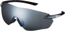 Shimano S-PHYRE R Cykelglasögon Svart, Optimal PL Silver MLC lins, 25,9g