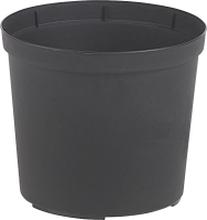 Omplanteringskruka Plast 100% Recycled, Svart Ø 27 cm, volym 10 liter