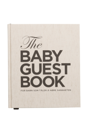 The Baby Guest Book No