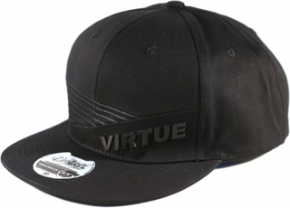 Virtue Snapback Hat - Marauder Black