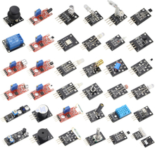 37 IN 1 Sensor Kit Starter Kit Sensors Set for UNO R3 for MEGA 2560 for Raspberry Pi DIY Learning Suit suitable for Arduino