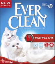 Kattsand Ever Clean Multiple Cat, 6 l