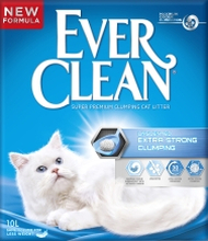 Kattsand Ever Clean Unscented Extra Strong Clumping, 10 l