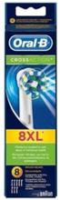 Oral-B Vaihtoharjat CrossAction 8 kpl