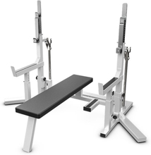 Eleiko PL Squat Stand/Bench - Grey/Black
