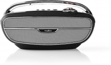 FM-radio   60 W   Bluetooth®   Svart/silver