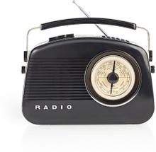 DAB+ radio   5.4 W   FM   Bärhandtag   Svart