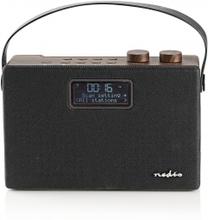 Digital DAB+-radio   15 W   FM   Bluetooth®   Brun/svart
