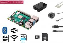 Raspberry Pi 4 4 GB Starter Kit + NOOBS Software Tool