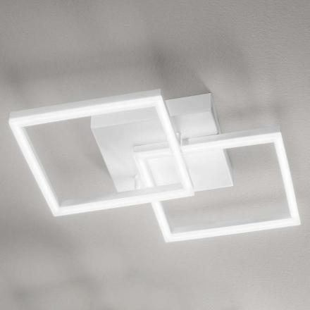 LED-taklampa Bard 2 lampor