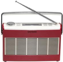 Denver Retro Radio DAB-37 Rød