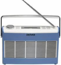 Denver Retro Radio DAB-37 Blå