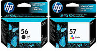 HP 56 / 57 combo pack 2 stk - SA342AE Original - 23,5 ml