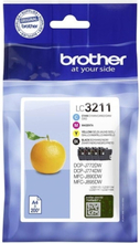 Brother LC3211VALDR Value pack
