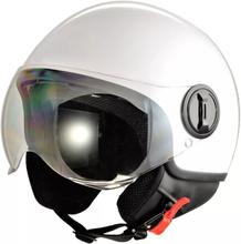 Hjälm för motorcykel - vit - L