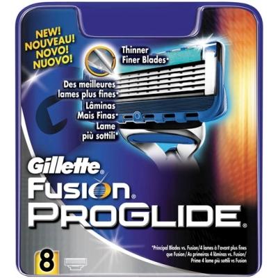 Gillette Fusion Proglide Partaterät 8 kpl