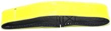 Hundhalsband Reflex med resår, gul