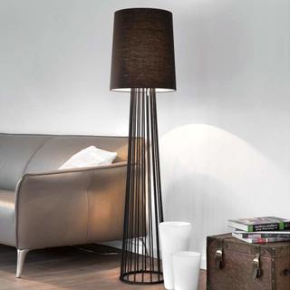 Villeroy & Boch Milano svart lampe i tekstil