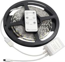 LED Strip Varmhvit-Kaldhvit 5m IP20 IR