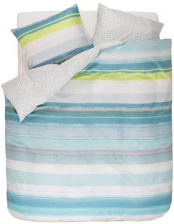 Esprit sengetøj Dana blue 140x200 cm