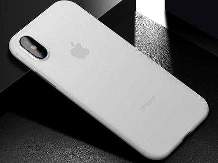 Etui Cafele ultra slim do Apple iPhone X/XS białe