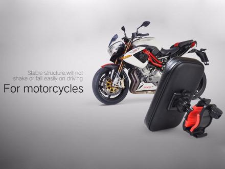 """Uniwersalny wodoodporny uchwyt rowerowy motocyklowy 5.5"""" - M1"""