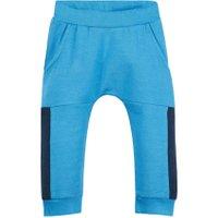NAME IT Baby Bløde Økologiske Sweatbukser Mænd Blå - BESTSELLER